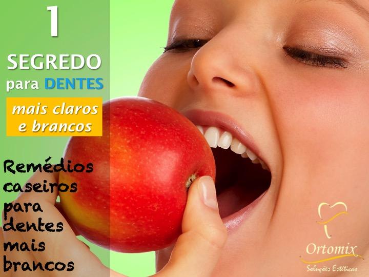 10 Segredos Para Dentes Mais Claros E Brancos Ortomix Odontologia